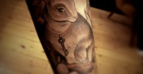 Bunny tattoo