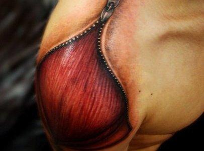 Tatuaje músculo