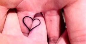 tatuaje corazón en mano