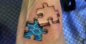 tatuaje rompecabeza