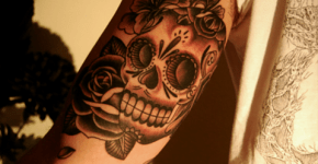 tattoo de calavera