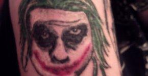 Tatoo joker fail