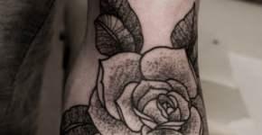 tatuaje de roza en el brazo