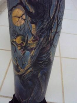 Fear of the dark tattoo