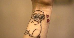 tatuaje pug