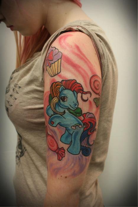 my litttle pony tattoo