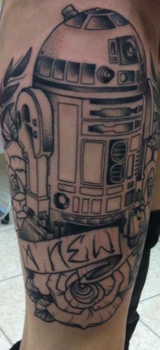 tatuaje r2d2