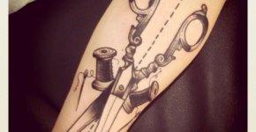 tatuaje costura