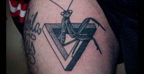tatuaje mantis