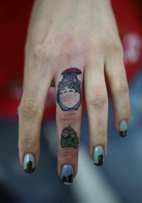tatuaje totoro