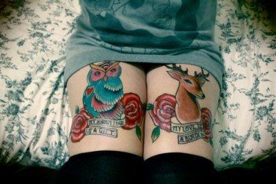 tatuajes animales