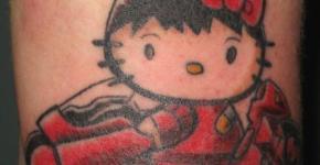 tatuajes hello kitty