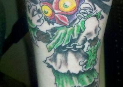 tatuaje Majoras Mask