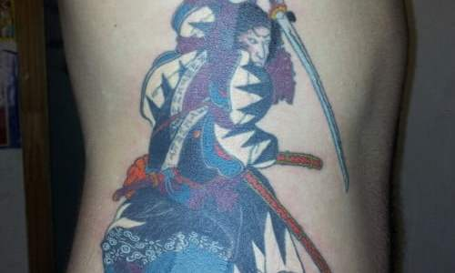 tatuaje samurai