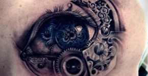 cyberpunk tattoo