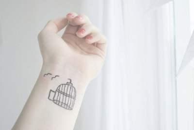 tatuajes jaulas de pajaros