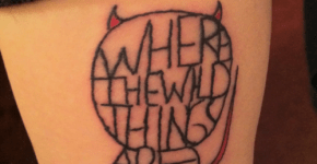 tattoo wild things are