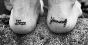 Free yourself tattoo