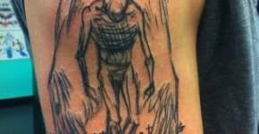Tatuaje Angel hombro