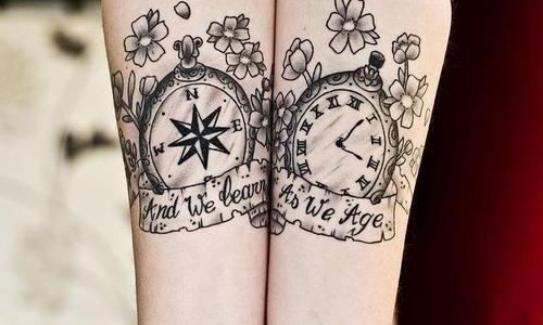 Tatuajes De Relojes Archives Página 7 De 9 Tatuajesxd
