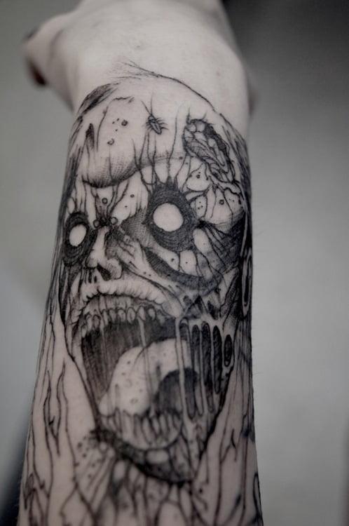 Zombies tattoos