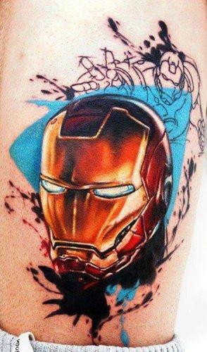 Tatuaje Iron Man