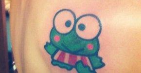 Tatuaje Keroppi