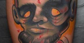 Tatuaje Abraham Lincon