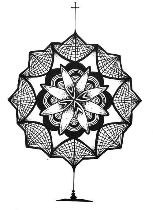 Diseño De Mandala Para Tatuaje