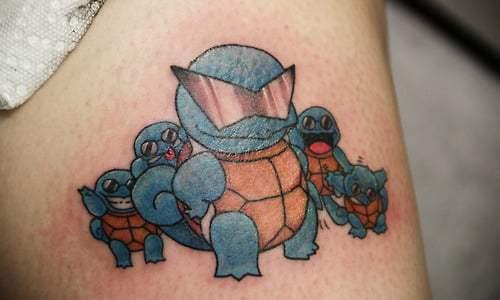 Pokemons tattoos