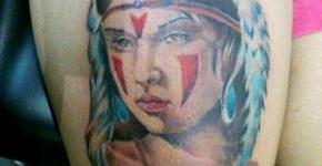 Mononoke princess tattoo