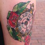 pocketwatch tattoo