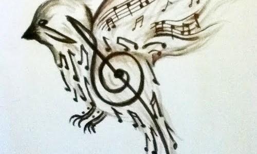 Bird tattoo design