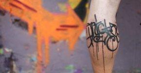 tatuajes de graffiti