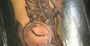 tatuaje estilo steampunk