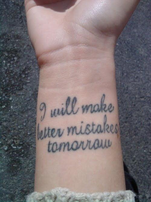 Phrases tattoos - Tatuajesxd