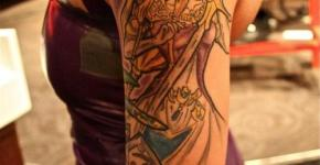 tatuaje zelda para mujer