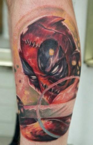 Tatuaje deadpool