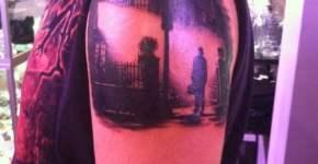 Tatuaje misterioso
