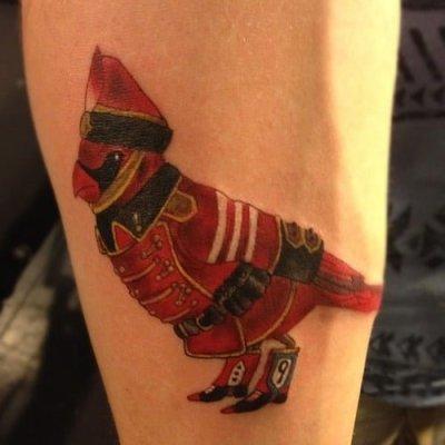 Cardenal tatuaje