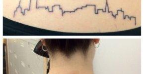 Cities tattoos