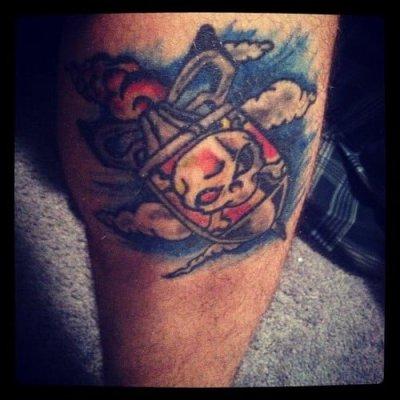 tatuaje bomba