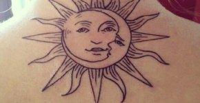 Sol y luna tattoo