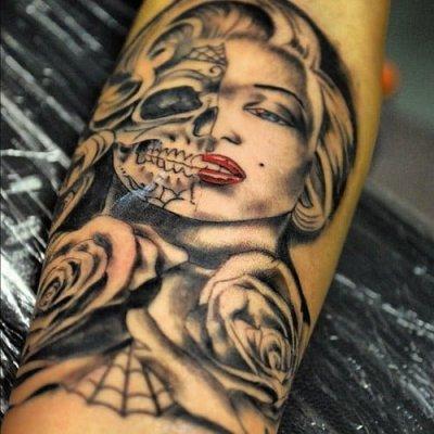 Tatuajes personalidades Zombie
