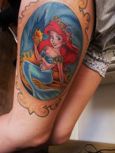 Little marmaid Tattoo