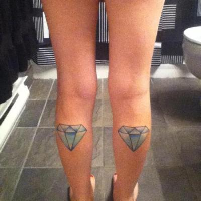 Diamonds tattoos