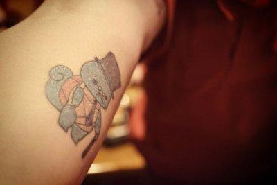 Like a Sir Tattoo