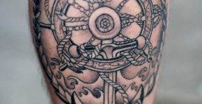 Tatuajes sobre el mar