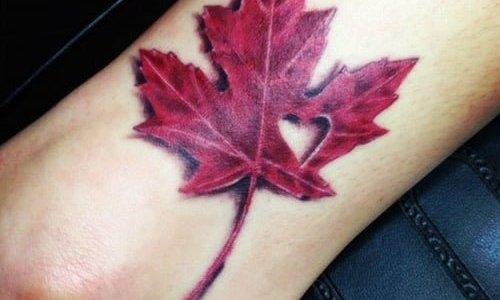 Tatuaje Canadá