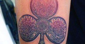 Clover tattoo